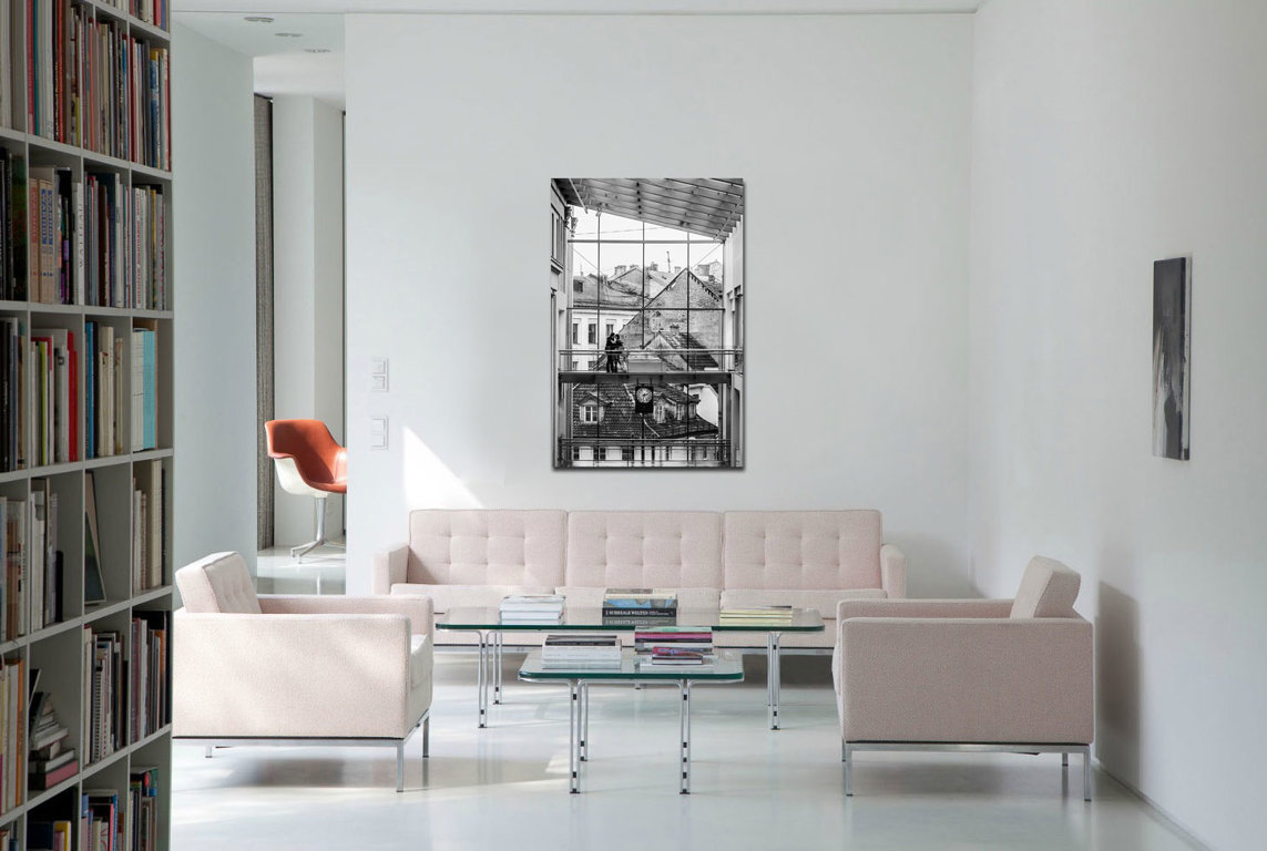T.Centrs 60 x 40 Art Canvas
