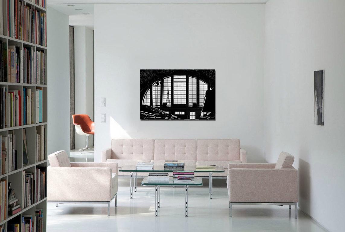 Rīgas Centrāltirgus 60 x 40 Art Canvas