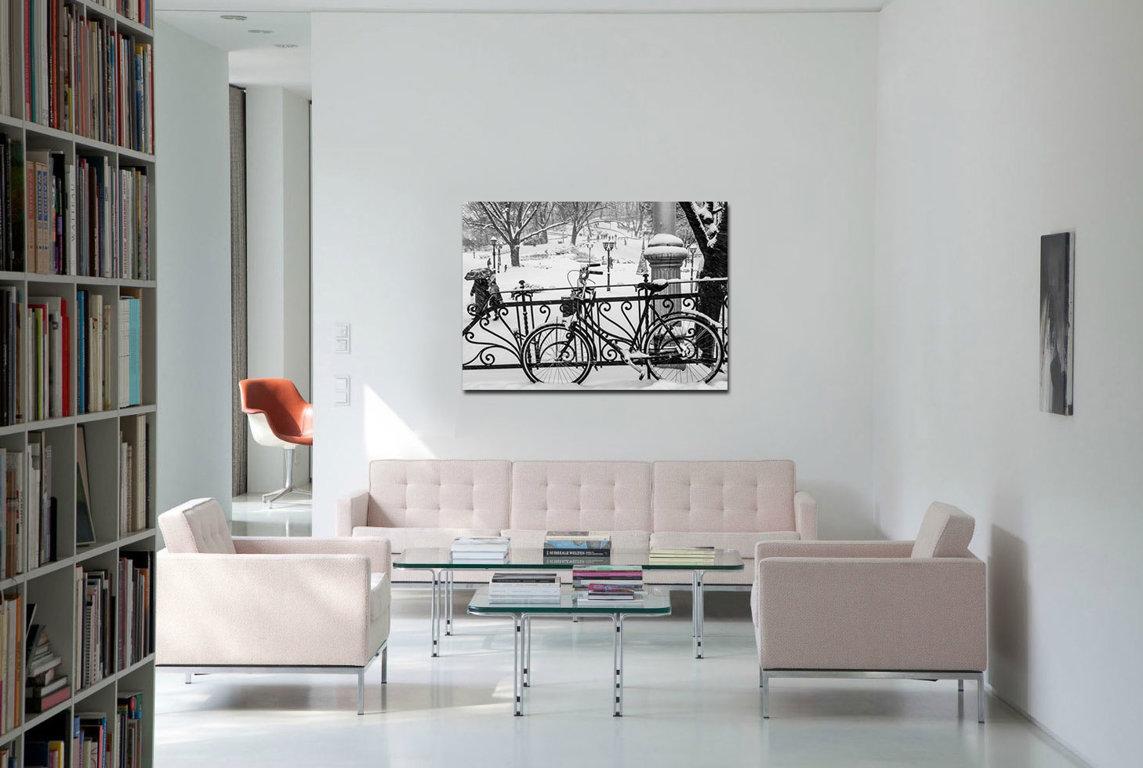 Bastejkalns ziemā 120 x 90 Art Canvas