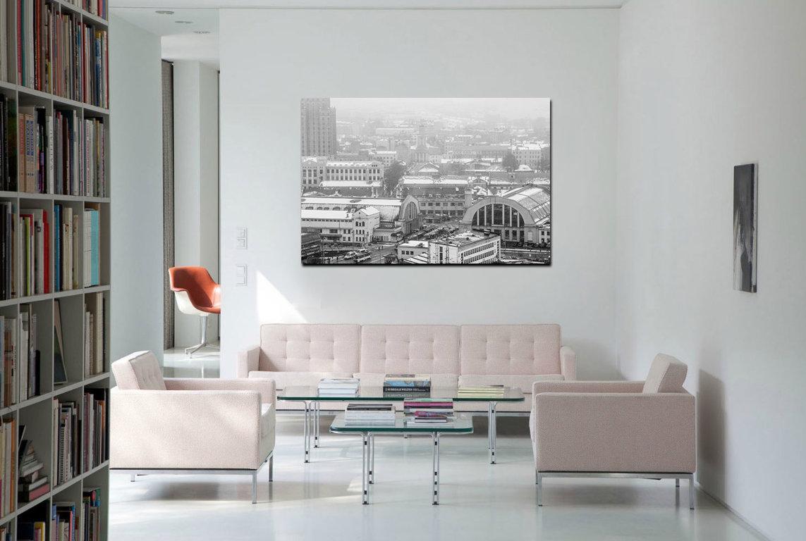 Centrāltirgus  60 x 40 Art Canvas