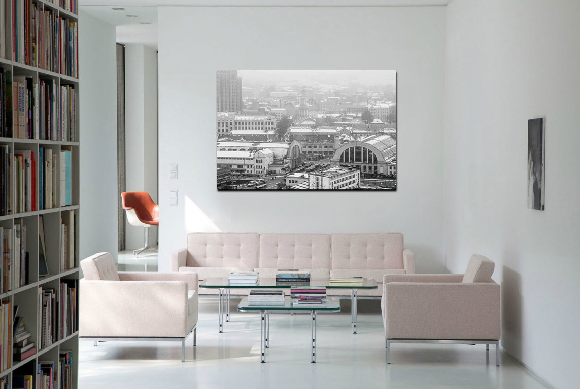 Centrāltirgus 90 x 60 Art Canvas