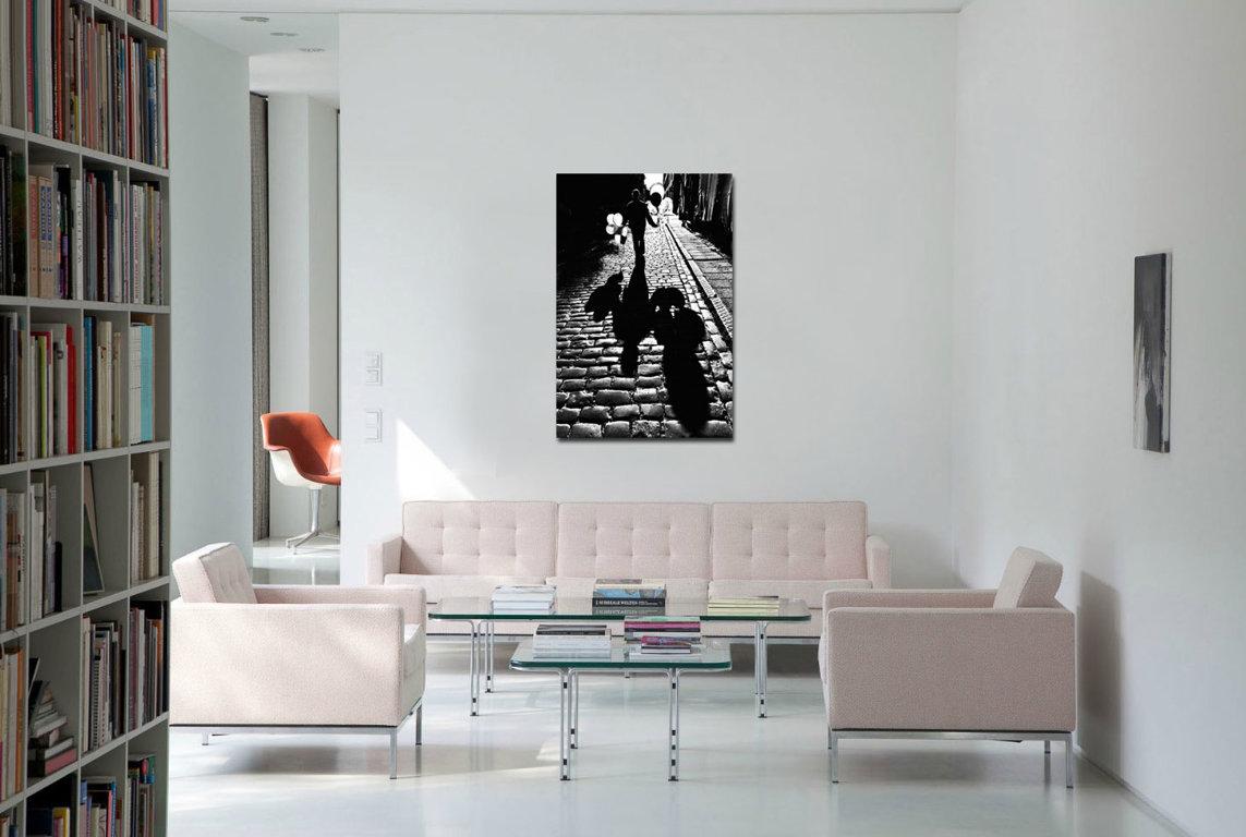Pilsētas vasara 120 x 90 Art Canvas