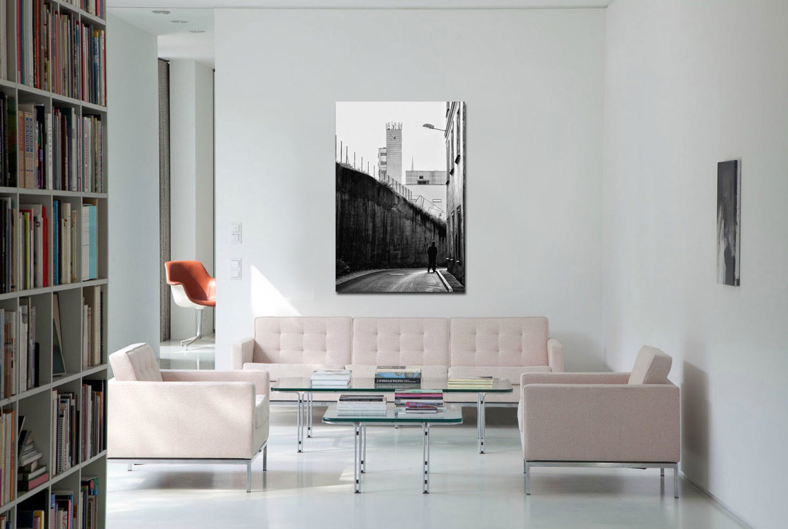 Rīgas pulksteni 120 x 60 cm Art Canvas