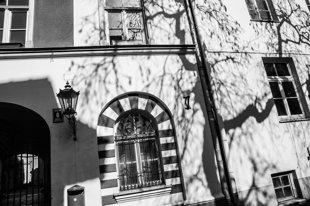 Rīgas logi 90 x 60 Art Canvas